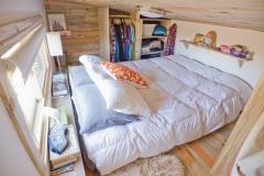 Tiny house project loft