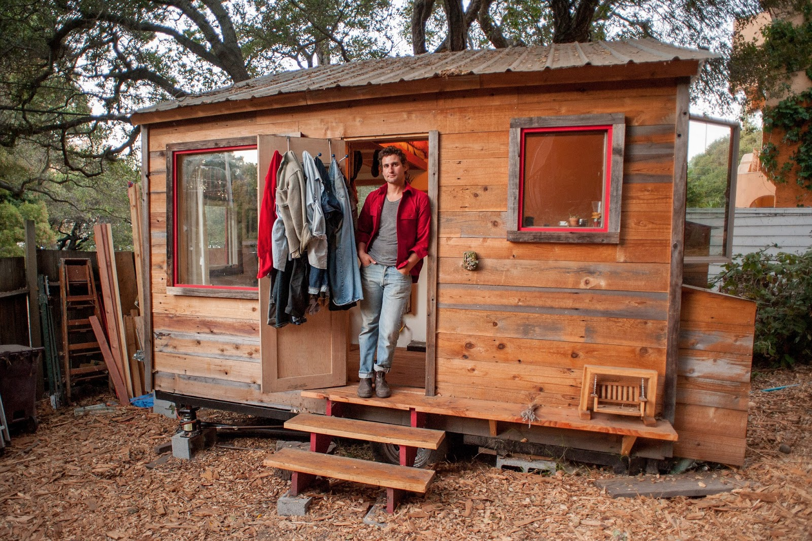 matthew wolpe tiny house tiny house france. Black Bedroom Furniture Sets. Home Design Ideas