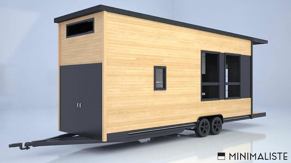 Minimaliste tiny house france for Construire maison minimaliste
