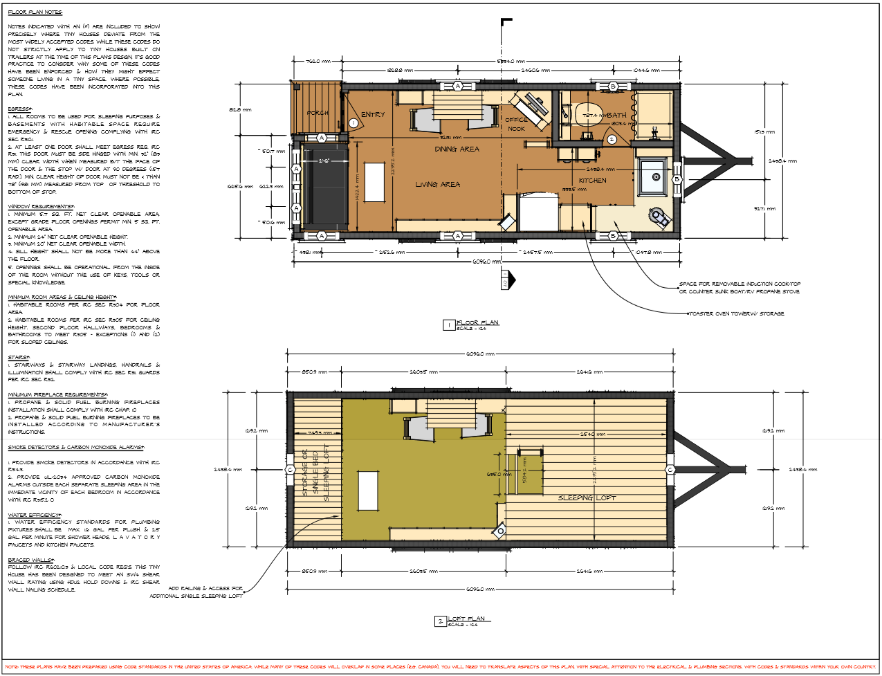 plan tiny house moschata