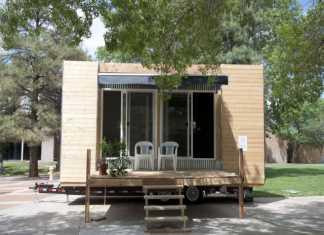 Moderne tiny house