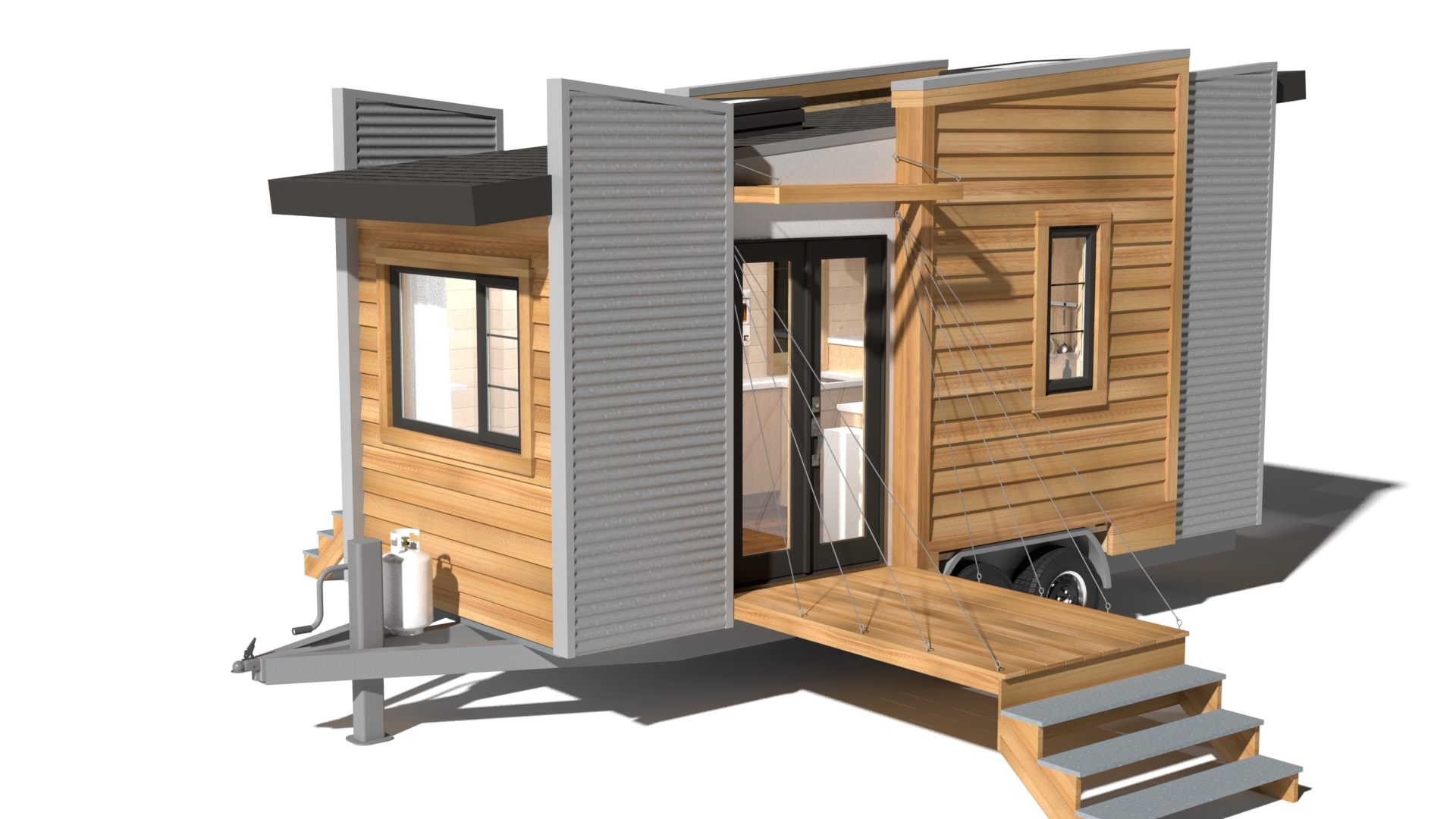 Home Build Plans Dragonfly Tiny House Tiny House France