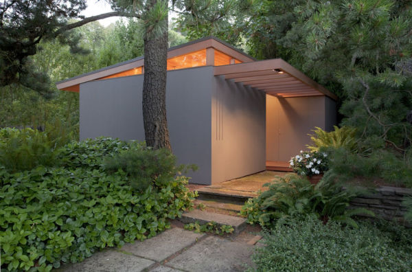 Pietro Belluschi tiny house