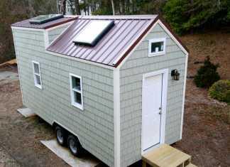 The inaugural tiny house