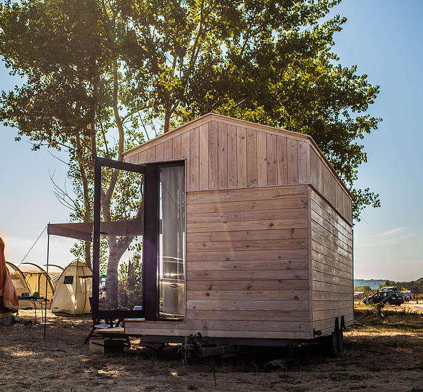 Koleliba tiny house