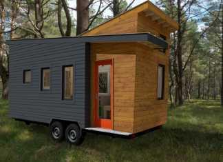 STEM N LEAF tiny house