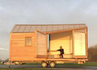 Woonpioniers tiny house