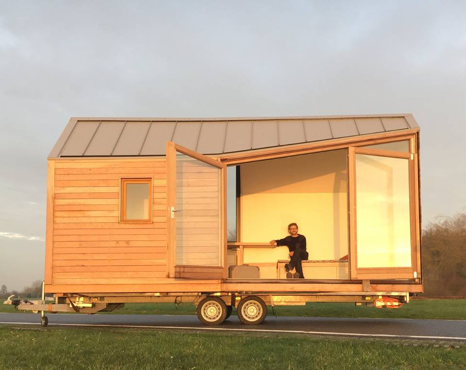 Woonpioniers tiny house