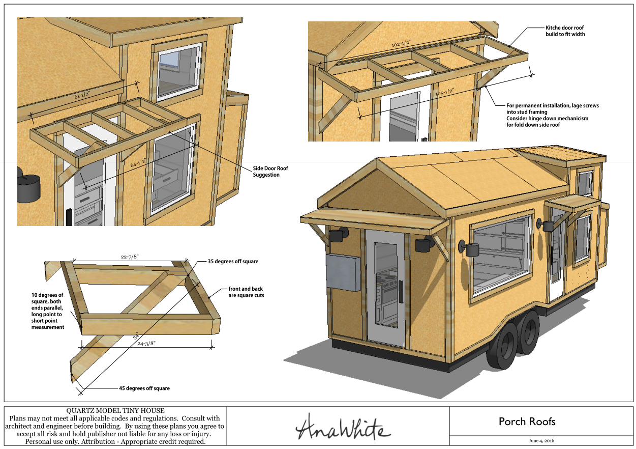 Plan Tiny House Quartz