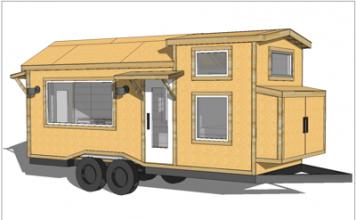 Plan Tiny House Quartz