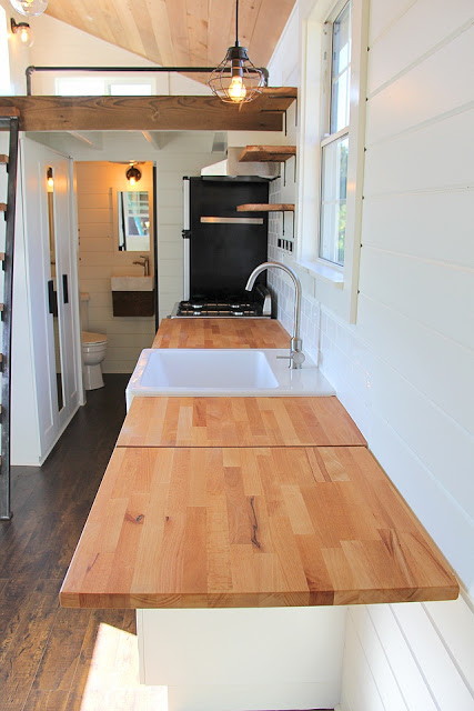 Rustic Modern Tiny House