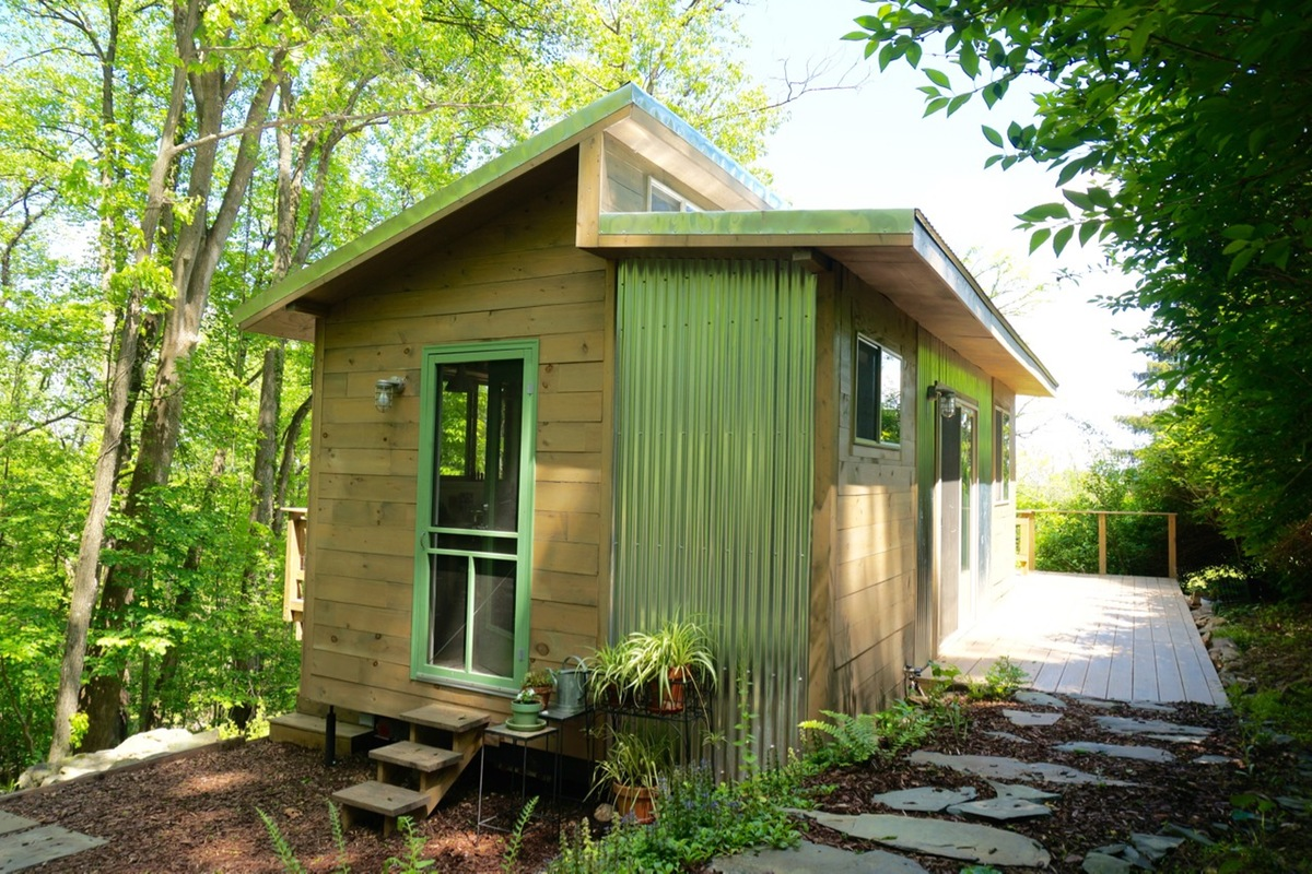 Différents types de toitures tiny house
