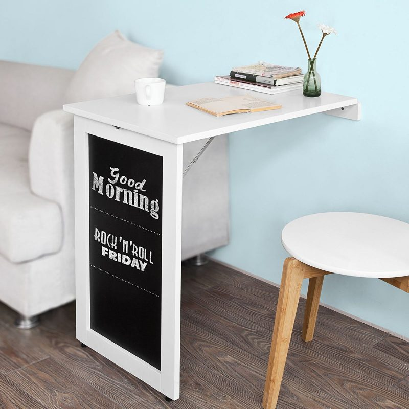 Table de cuisine pliante murale de bar fixe au mur leroy merlin table pliante with table de - Table de cuisine murale ...
