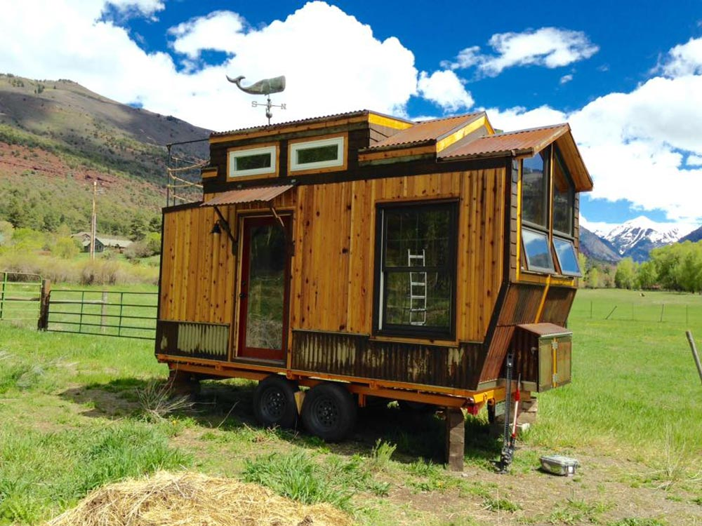 Rustic Modern Tiny House Oregon