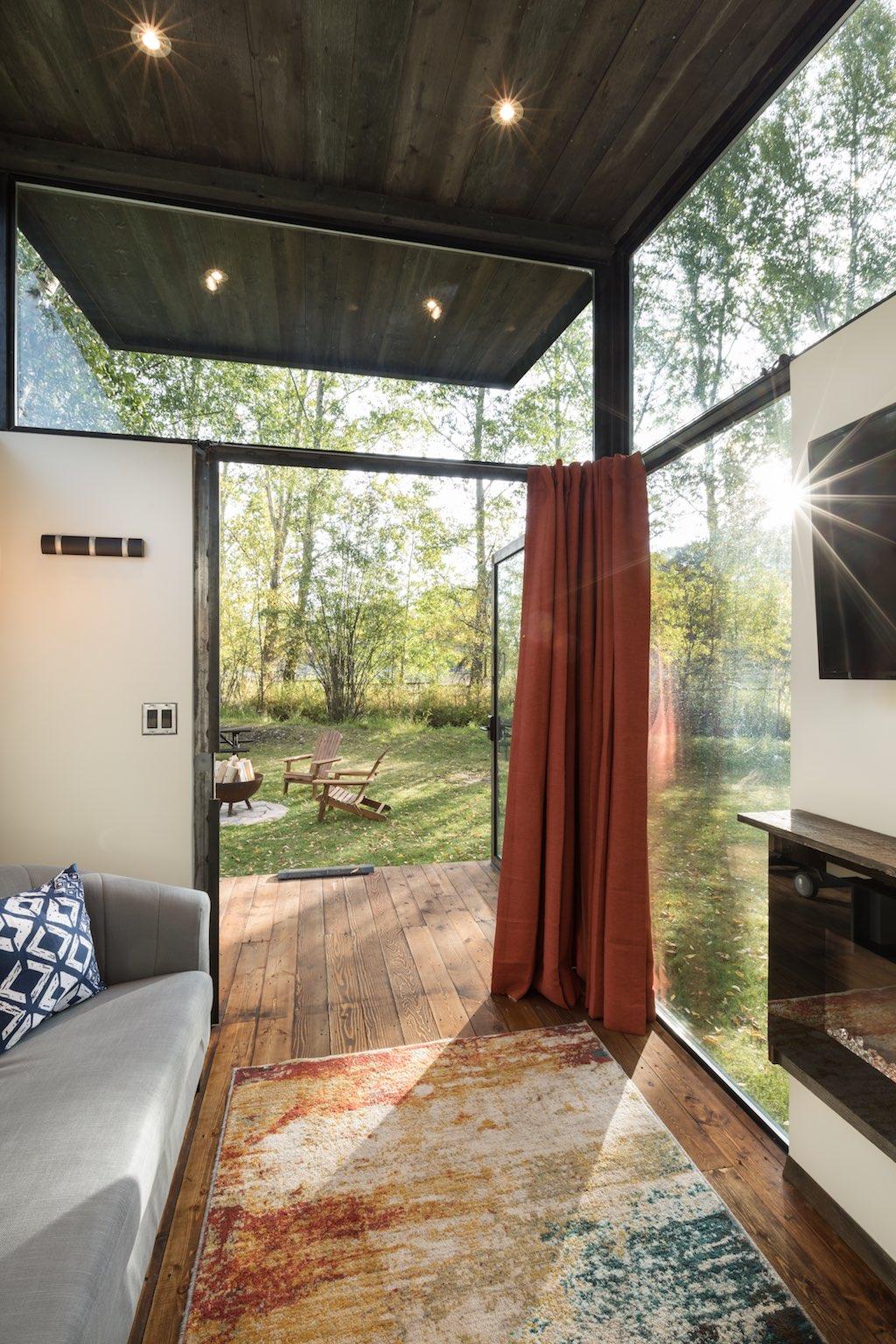 une mini maison ultra lumineuse