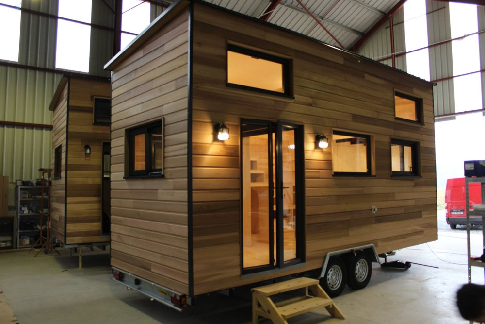 annonce tiny house exp rience double mezzanine tiny house france. Black Bedroom Furniture Sets. Home Design Ideas