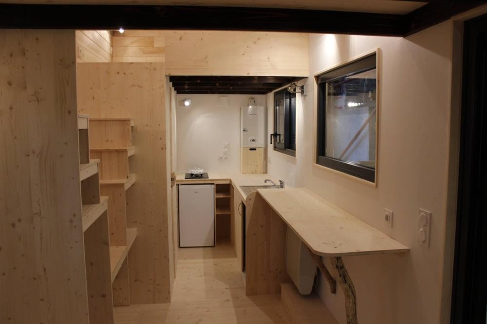 Tiny House Expérience double mezzanine