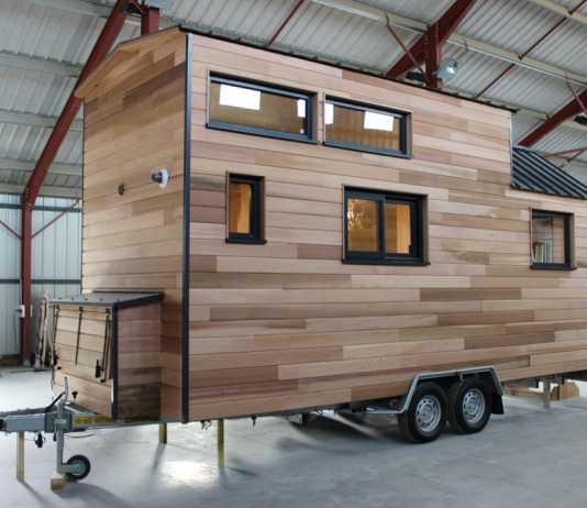 Tiny House Expérience simple mezzanine