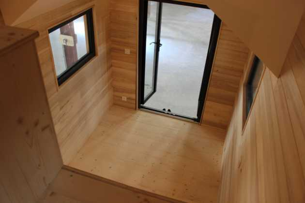 Tiny House Expérience simple mezzanine
