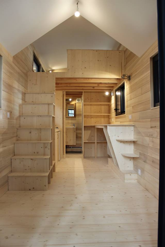 annonce tiny house exp rience simple mezzanine tiny house france. Black Bedroom Furniture Sets. Home Design Ideas