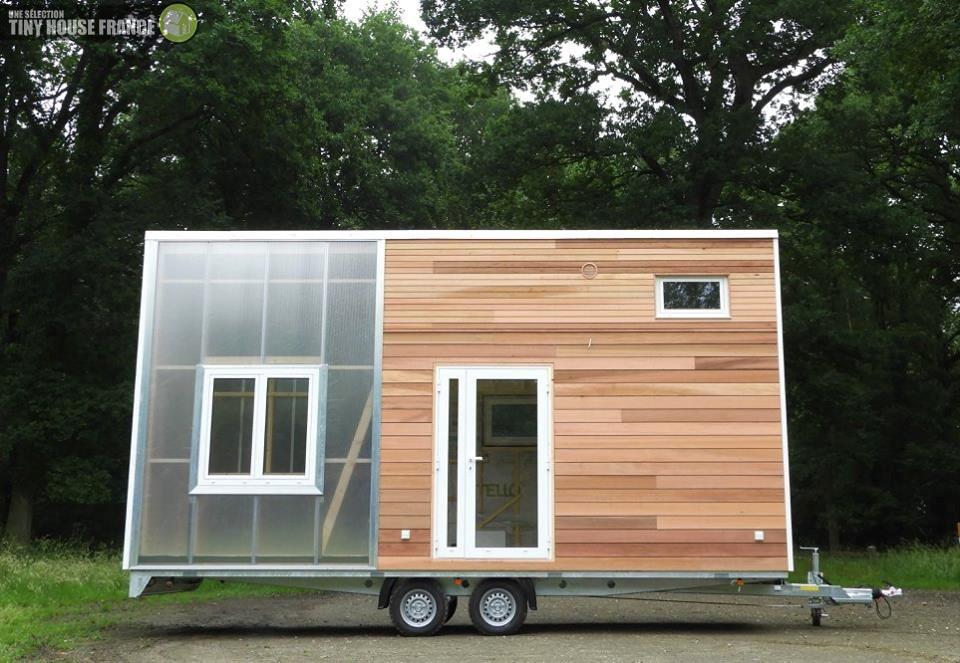 Tiny house avec jardin d'hiver