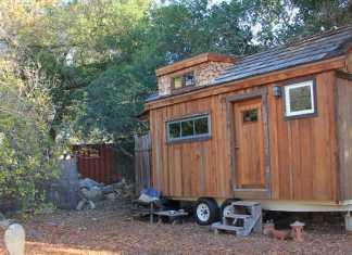 Chief's peak tiny house