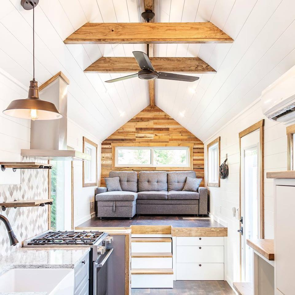 Coin salon tiny house