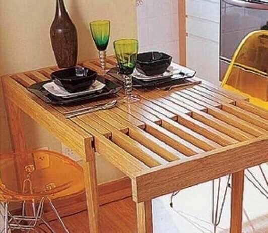 table extensible tiny house