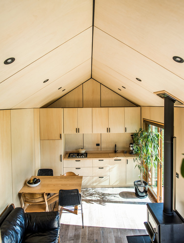 Une famille de 5 personnes vit dans une tiny house