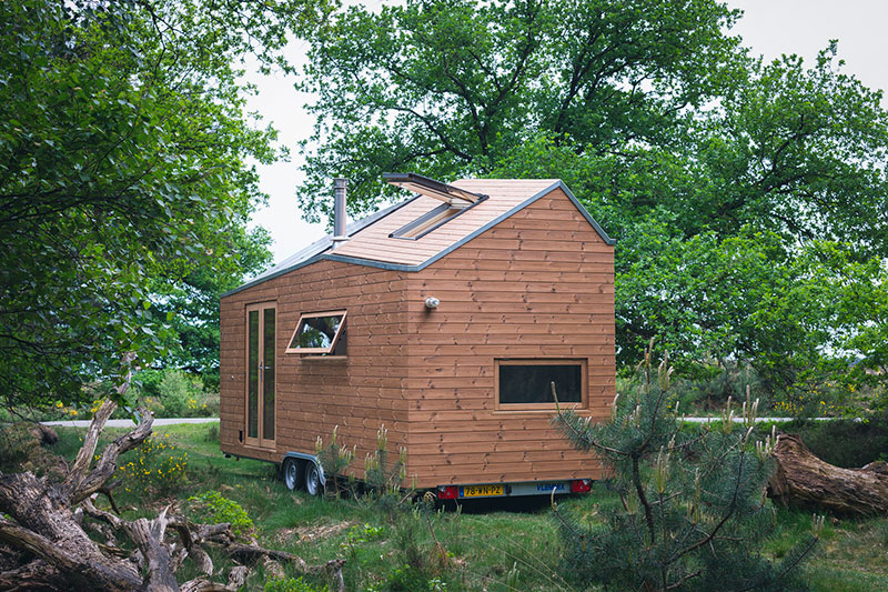La Tiny House de Marjolein contemporaine autonome