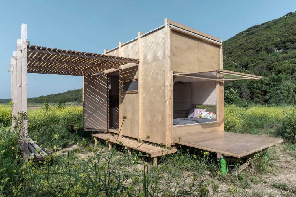 Cabane a la frontiere