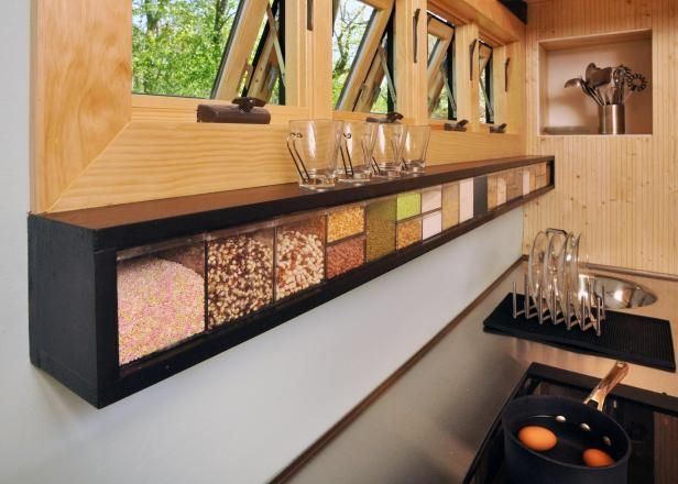Rangement cuisine - étagère