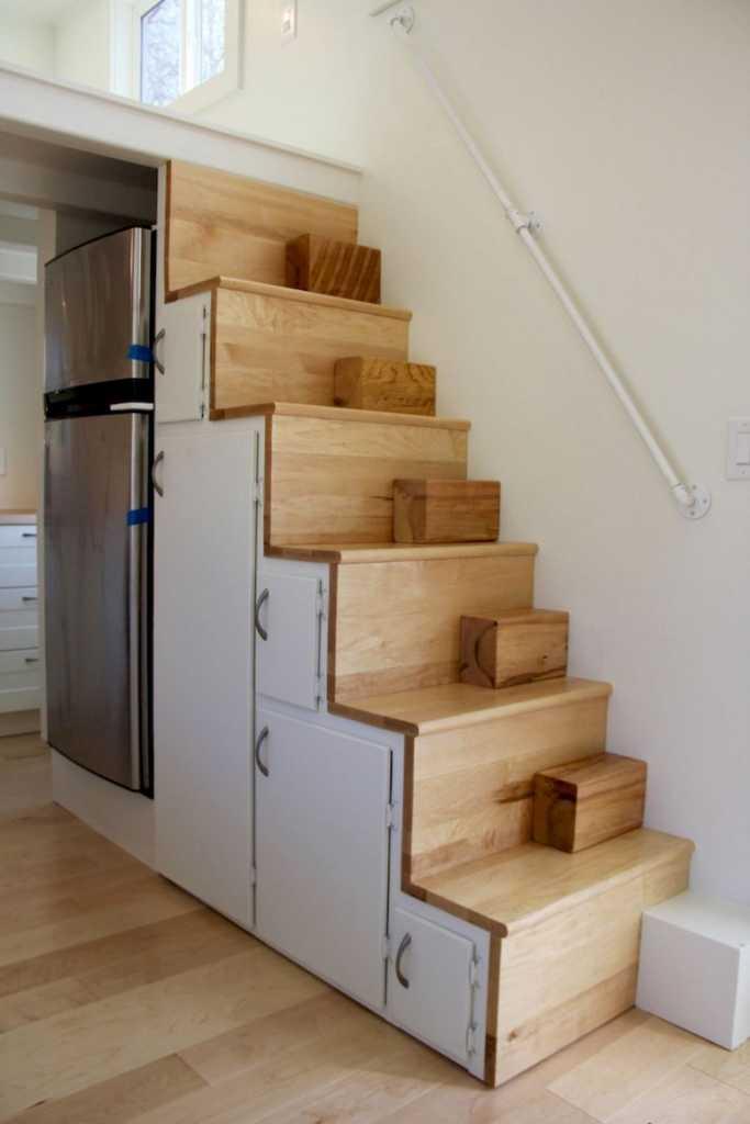 Escalier à portes