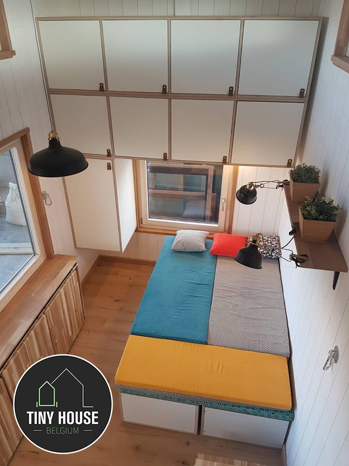 Aménagement modulable tiny house