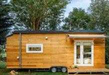 Cindy et Joey ont auto-construit leur tiny house exterieur