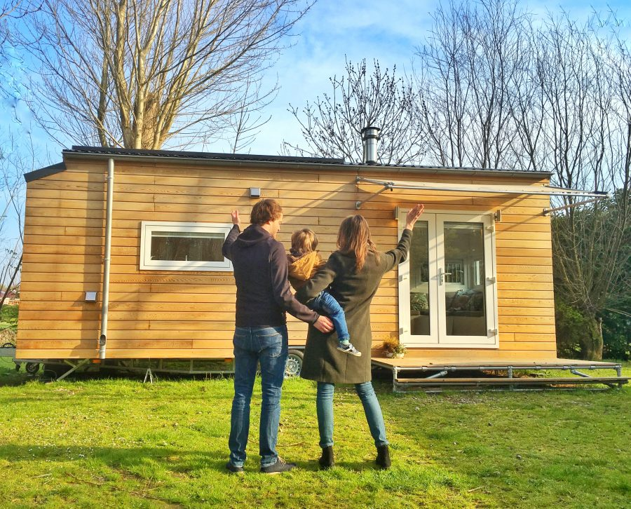 Cindy et Joey ont auto-construit leur tiny house
