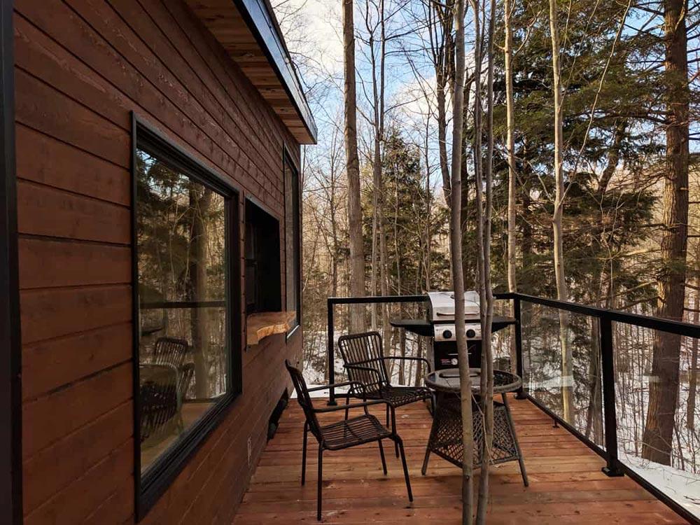 Dashy Tiny House terrasse