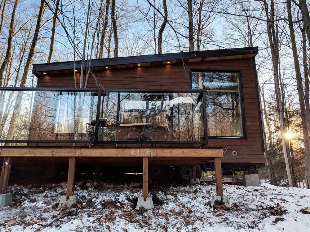 Dashy Tiny House façade terrasse