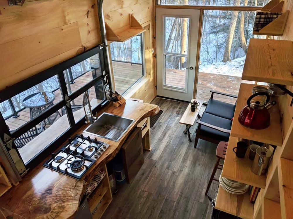 Dashy Tiny House interieur