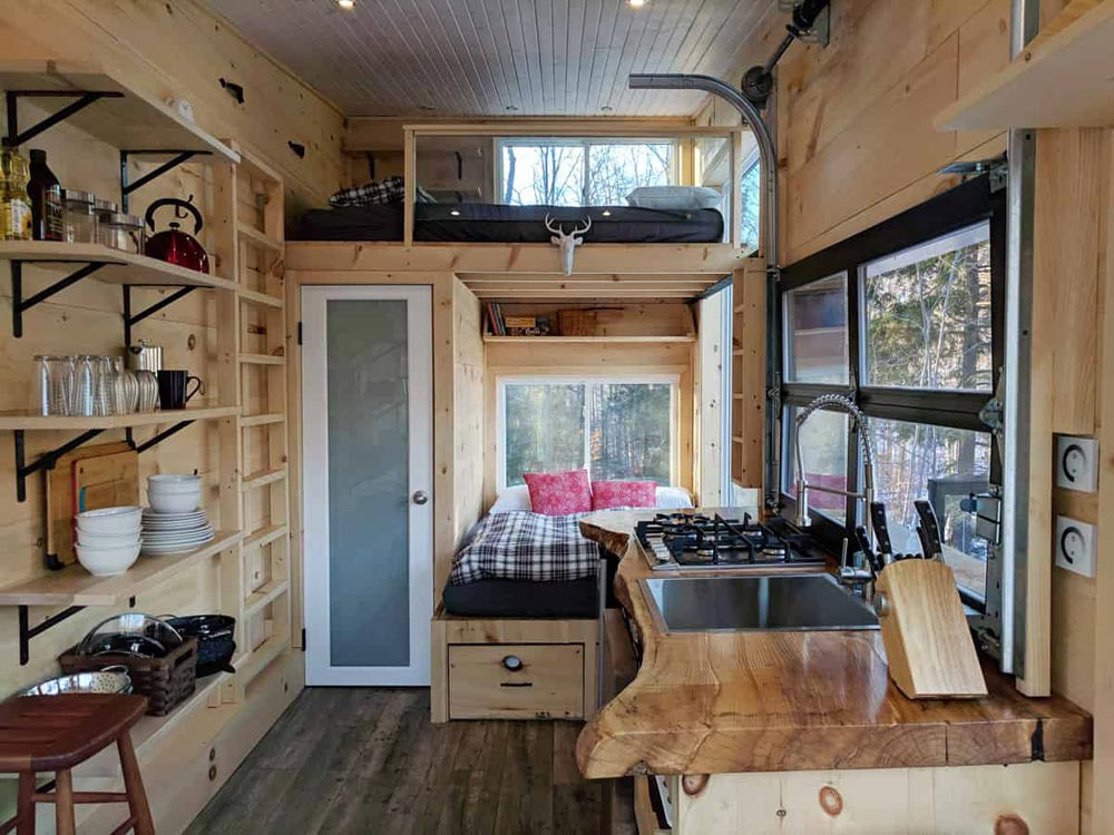 Dashy Tiny House couchage rez de chaussee