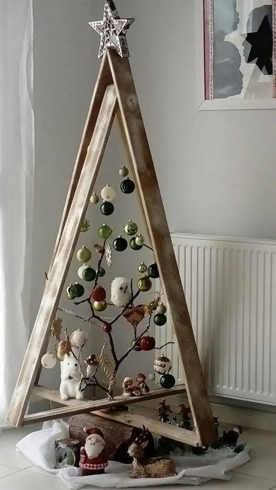 Sapin planche, branche d'arbre