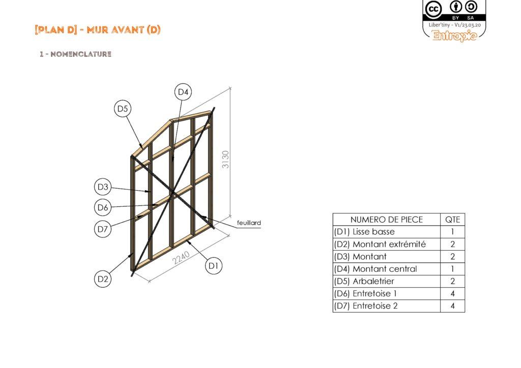 Tiny House Liber'Tiny plan gratuit pdf