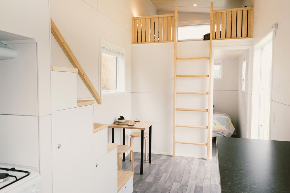 Archer tiny house echelle