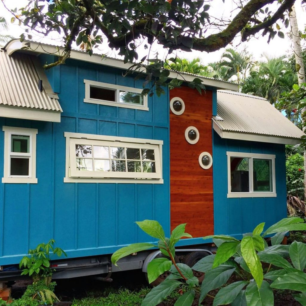 Une magnifique tiny house à Hawaï