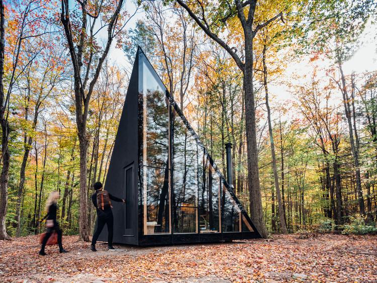 Une tiny house A Frame façon architecte