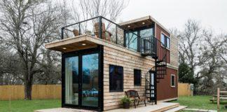 Mini maison container