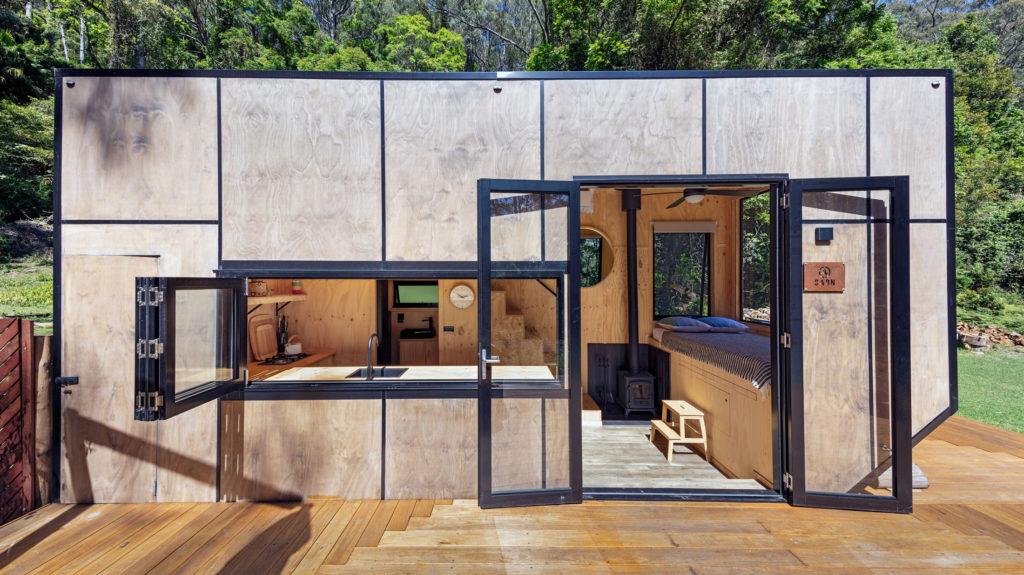 CABN tiny house façade