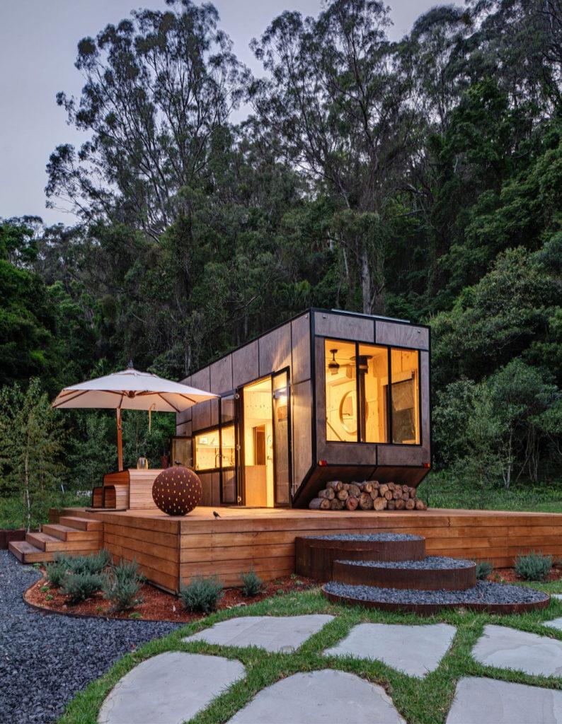 CABN tiny house vue exterieur