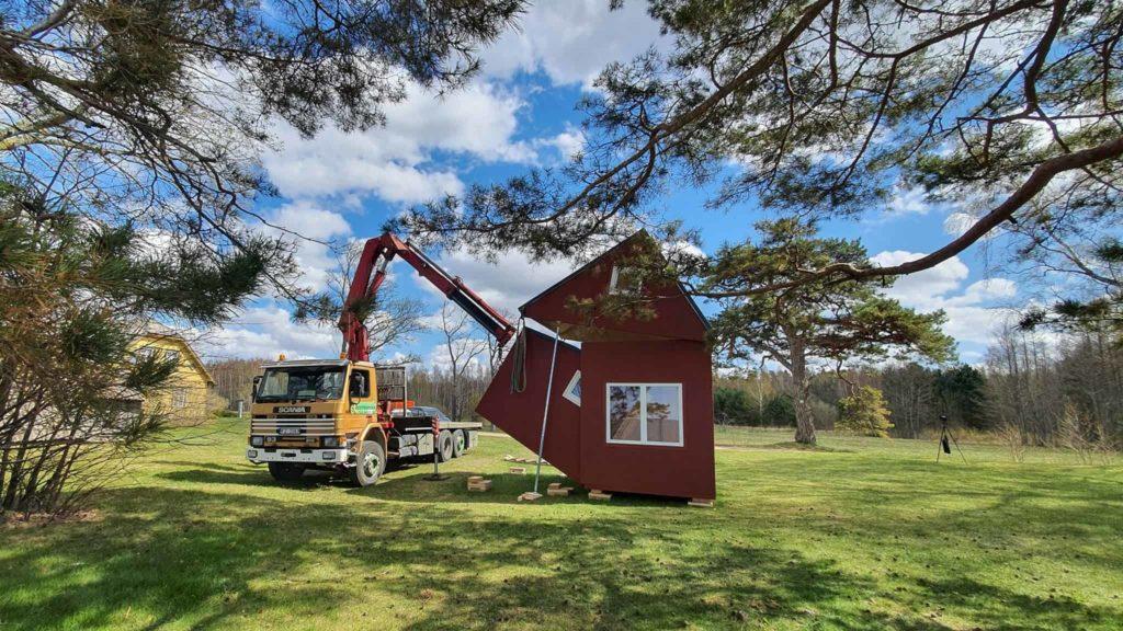 Deplaige Brette Haus mini maison pliable