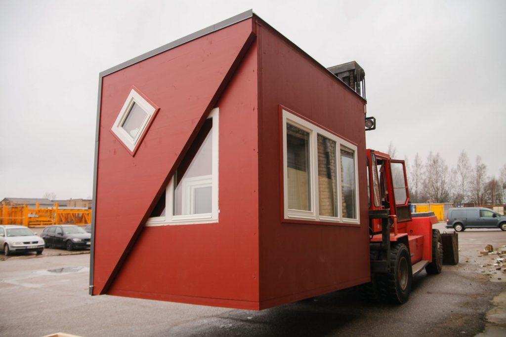 La Brette Haus mini maison pliable pliée